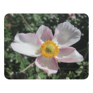Lavender Beach Plum Rose Flower Door Sign
