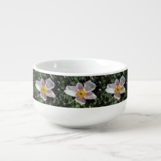 Lavender Beach Plum Rose Flower Soup Mug