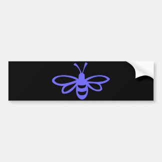 Lavender Bee Bumper Sticker
