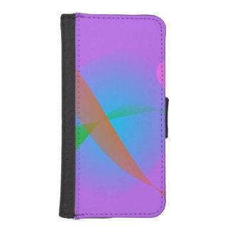 Lavender Bird iPhone SE/5/5s Wallet Case