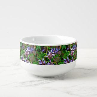 Lavender Bloom Soup Mug