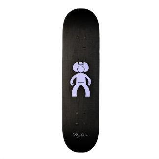 Lavender Blue Cowboy Skate Boards