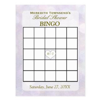 Lavender Bokeh | Bingo Card