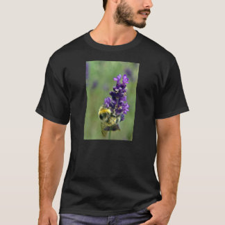 Lavender Bumblebee Watercolor T-Shirt