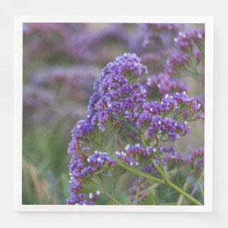 Lavender by the ocean disposable serviettes