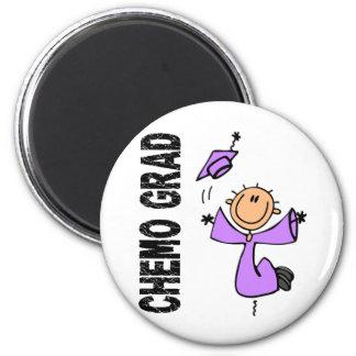 Lavender CHEMO GRAD 1 General Cancer Magnet