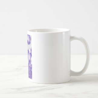 Lavender Crocus Flower Patch Coffee Mug