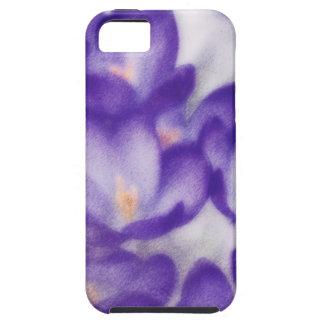 Lavender Crocus Flower Patch iPhone 5 Cover