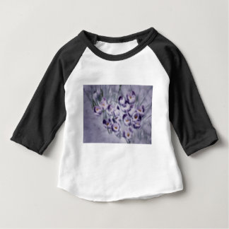 Lavender Crocus Patch Baby T-Shirt