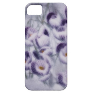 Lavender Crocus Patch Case For The iPhone 5