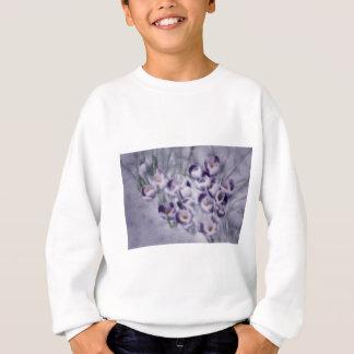 Lavender Crocus Patch Sweatshirt