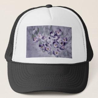 Lavender Crocus Patch Trucker Hat