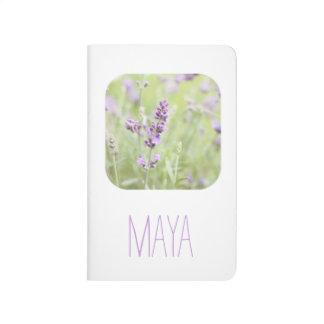 Lavender Custom Journal