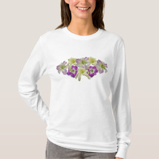 Lavender Daylily Collage T T-Shirt