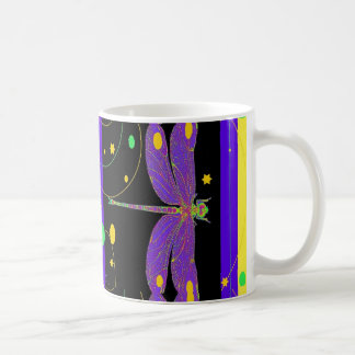Lavender Dragonfly Modern Design by Sharles Coffee Mug