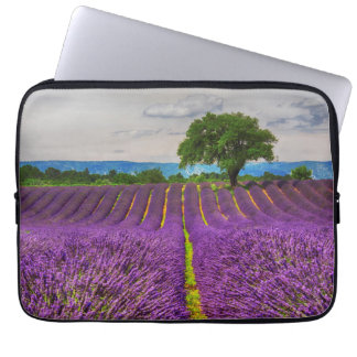 Lavender Field scenic, France Laptop Sleeve