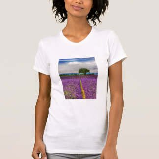 Lavender Field scenic, France T-Shirt