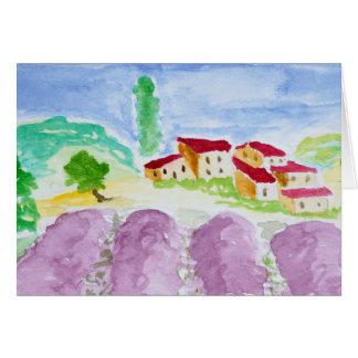 Lavender Fields Abbaye de Senanque | Provence Card