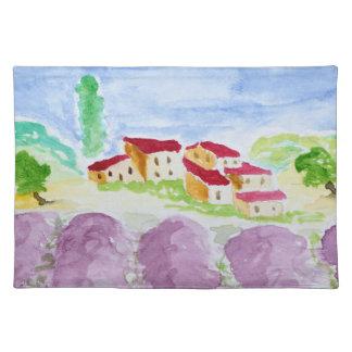 Lavender Fields Abbaye de Senanque | Provence Placemat