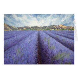Lavender Fields, Provence Card
