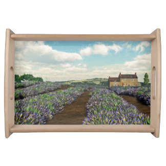 Lavender Fields Serving Tray