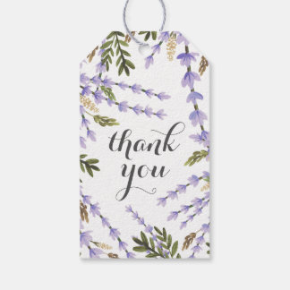 Lavender Fields Thank You Gift Tags