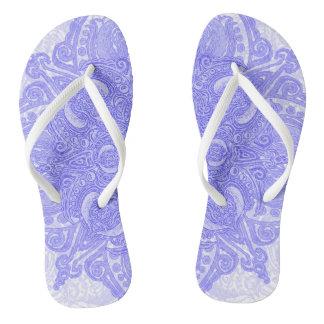 Lavender Fleury Thongs