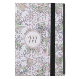Lavender Floral Damask iPad Mini Case