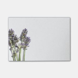Lavender Flowers Post-it® Notes