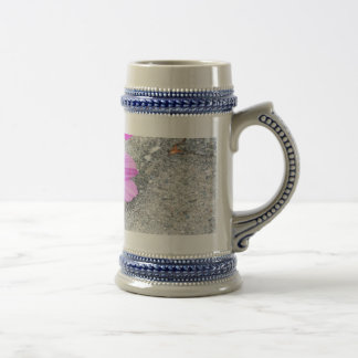 Lavender Flowers with Inspirational quotes Beer Steins