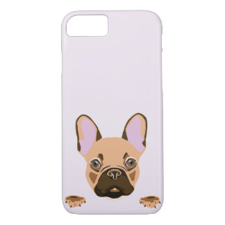 Lavender Frenchie Phone Case