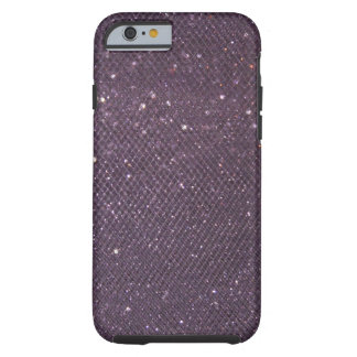 Lavender Glitter Tough iPhone 6 Case