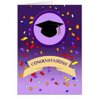 Lavender Graduation: Fierce Card