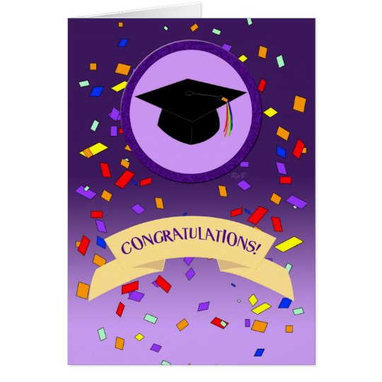 Lavender Graduation: Fierce Card