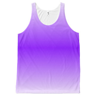 Lavender Graedient™ Unisex All-Over Print Tank Top