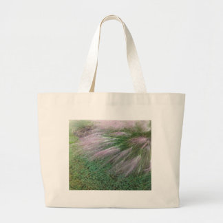 Lavender Grass Large Tote Bag