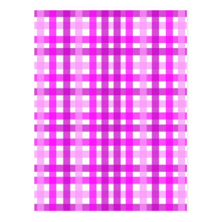 Lavender Grid Postcard
