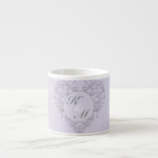 Lavender hearty Chic Espresso Mug
