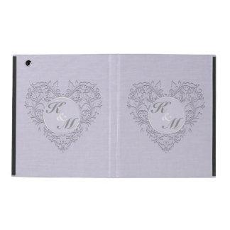 Lavender hearty Chic iPad Folio Cover