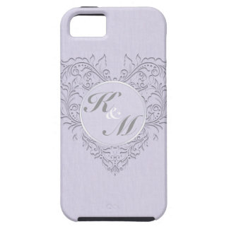 Lavender hearty Chic iPhone 5 Case