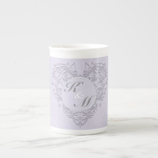Lavender hearty Chic Tea Cup