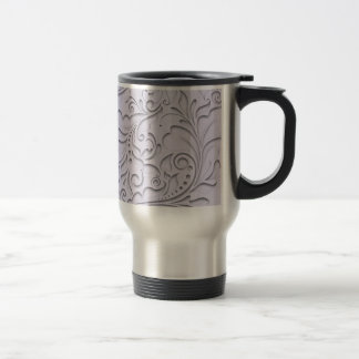 Lavender HeartyChic Stainless Steel Travel Mug