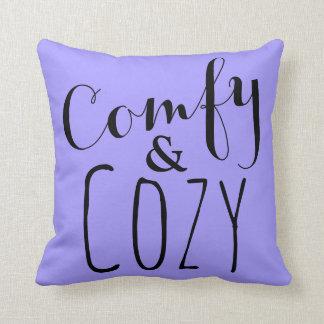 Lavender Home Decor Purple Cozy Comfy Throw Pillow