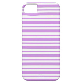 Lavender Horizontal Pinstripe Case For The iPhone 5