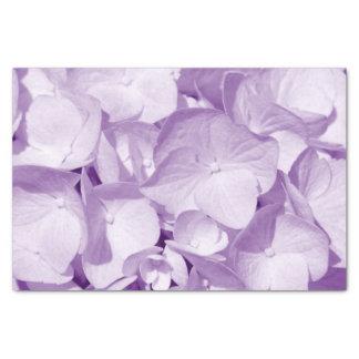 Lavender Hydrangea Pattern Tissue Paper