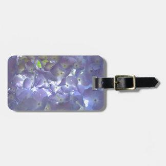 Lavender Hydrangeas Luggage Tag