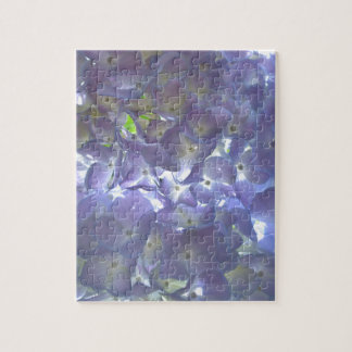 Lavender Hydrangeas Puzzle