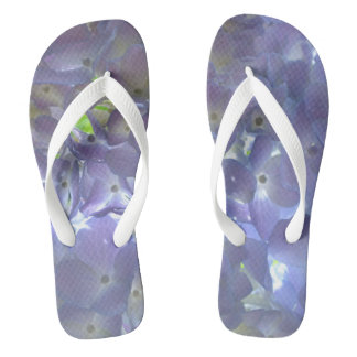 Lavender Hydrangeas Thongs