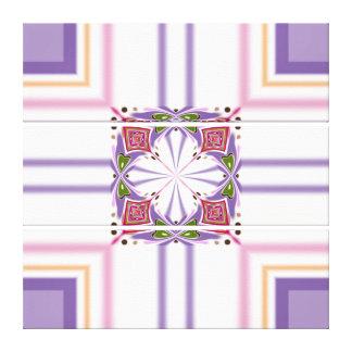 Lavender jump; Energetic Midday Canvas Print