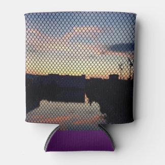 Lavender Lake Can Cooler